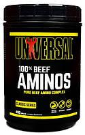 Комплекс аминокислот Universal Nutrition - 100% Beef Aminos (400 таблеток)