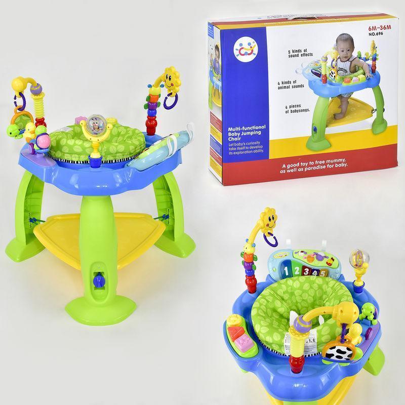 Детский многофункциональный игровой центр 696 звуковые и световые эффекты (2 цвета)