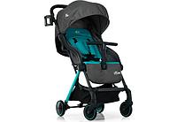 Коляска прогулочная для малыша EL Camino «Mimi» M 1036L Серая с бирюзовым