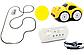 Машина на радіо управлінні (індукційна) YC-001, жовта, фото 3