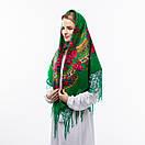 Українська хустка з люрексом 110х110см, фото 2