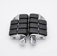Подножки, площадки  RTS  Harley Softail Sportster Dyna Glide метал, серый, лапки, мото педали