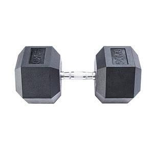 Гантель гексагональная InterAtletika 50 кг MD2102-50, фото 2