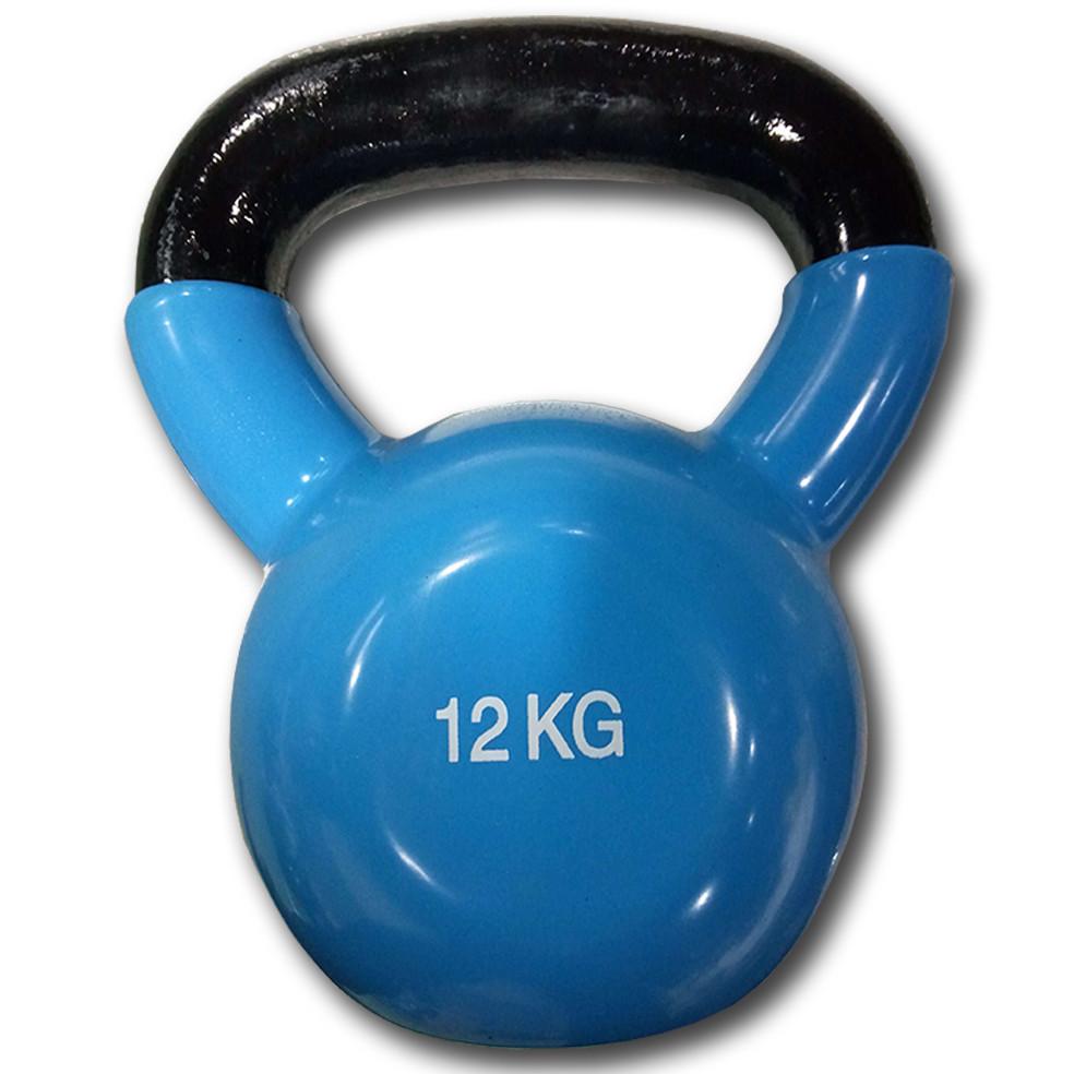 Гиря виниловая цветная Fitex Explode MD2201-12, 12 кг