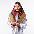 Українська хустка з тороками 90х90см, фото 3