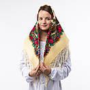 Українська хустка з тороками 90х90см, фото 2