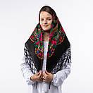 Українська хустка з тороками 90х90см, фото 9