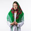 Українська хустка з тороками 90х90см, фото 6