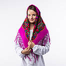 Українська хустка з тороками 90х90см, фото 10