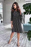 ✔️ Красивое летнее платье с цветочным принтом 42-48 размеры разные расветки