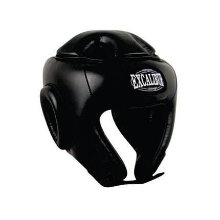 Шлем боксерский Excalibur 701 L черный, фото 2
