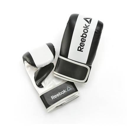 Боксёрские перчатки Reebok Retail RSCB-11134BK black L, фото 2