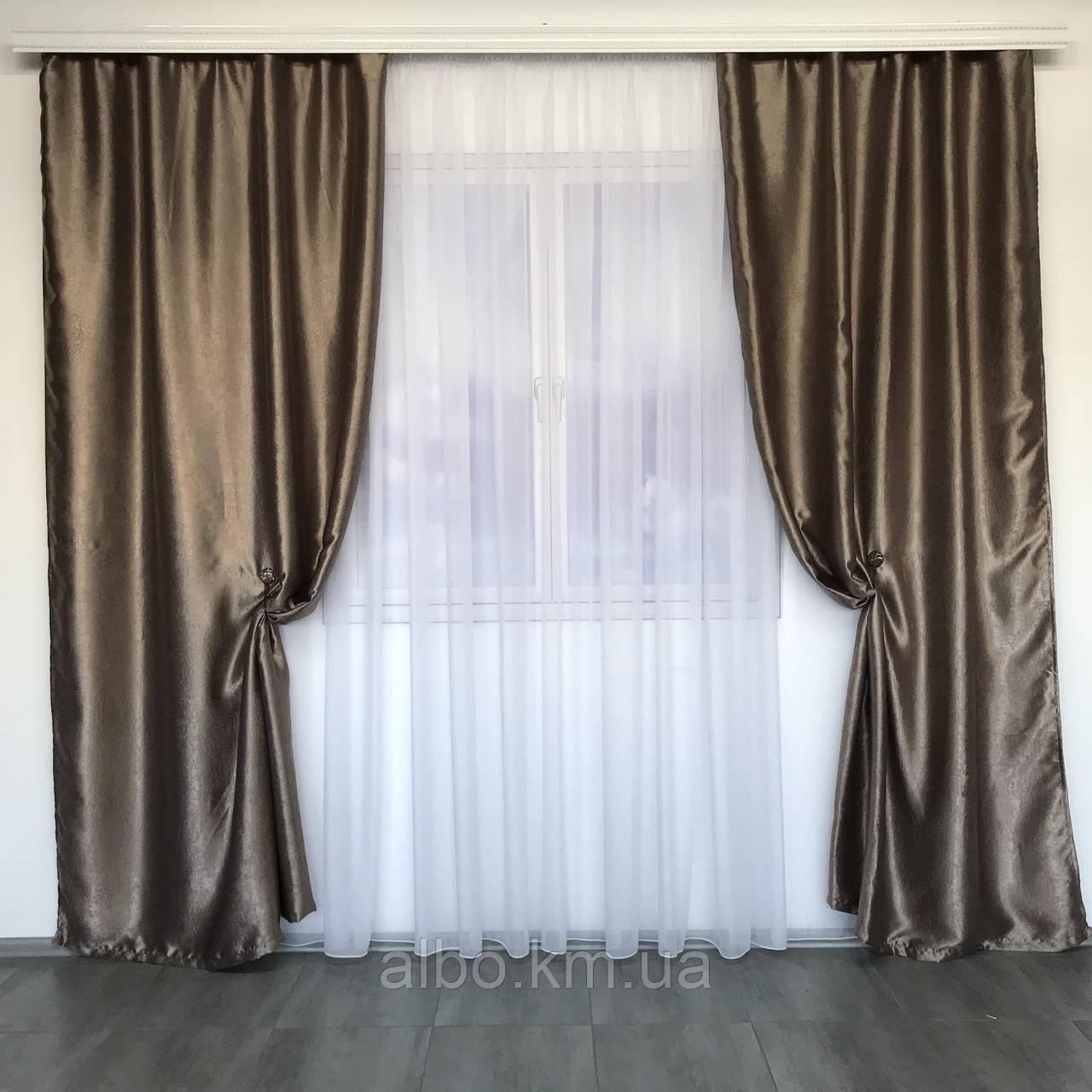 Шторы двойные в спальню зал кухню комнату квартиру, шторы двухсторонние Блэкаут софт для зала спальни комнаты