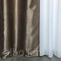 Штори подвійні в спальню зал кухню кімнату квартиру, штори двосторонні Блекаут софт для залу спальні кімнати балкона кабінету,, фото 2