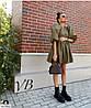Модне жіноче літнє плаття з рукавом-ліхтариком, фото 6