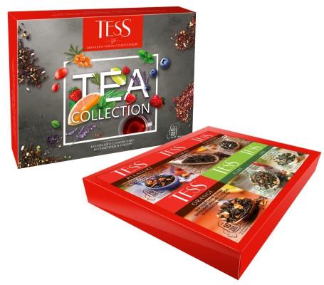 Набір пакетованого чаю TESS асорті 60 пакетиків