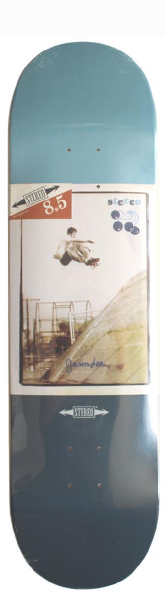 Дека для скейтборда STEREO Jason Lee Classic Ads 8.5