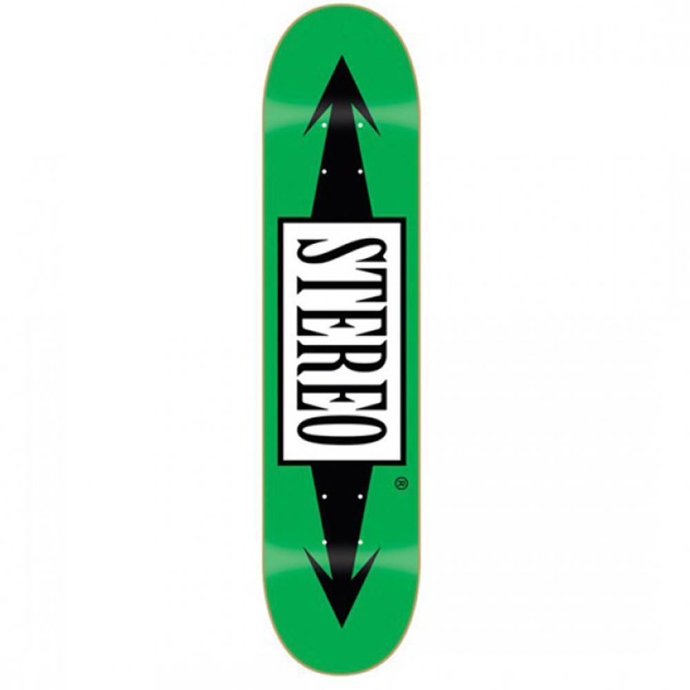 Дека для скейтборда STEREO Arrows Green 8.0