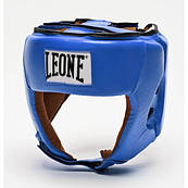 Боксерский шлем для соревнований Leone Contest Blue L