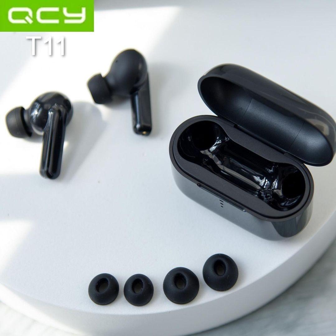 Беспроводные наушники Xiaomi QCY T11 black TWS