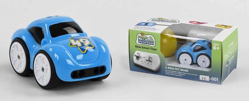 Машина на радіо управлінні (індукційна) YC-001, блакитна