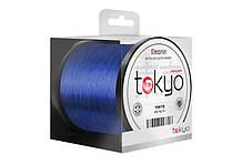 Волосінь коропова, коропова волосінь, волосінь Delphin TOKYO 1100m / флюро Синя 0,33 мм 18lbs