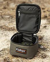 Футляр для грузил та годівниць, сумка для грузил, футляр Fisher