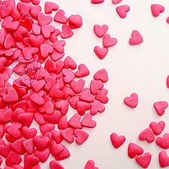Посыпка кондитерская Сердечки , Розовые