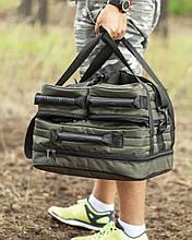 Сумка карповая, Карповая сумка 3в1 раскладная, Сумка для рыбалки, Fisher!