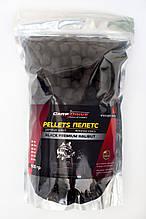 Пеллетс карповый, пеллетс для рыбалки, пеллетс Carp Drive Black Premium Halibut (премиум класcа) 14 мм 900гр