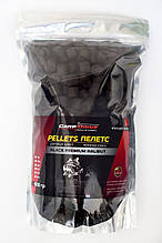 Пеллетс карповый, пеллетс для рыбалки, пеллетс Carp Drive Black Premium Halibut (премиум класcа) 20 мм 900гр