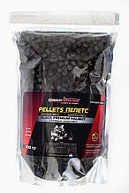 Пеллетс карповый, пеллетс для рыбалки, пеллетс Carp Drive Black Premium Halibut ( с отверстием) 8 мм 900 гр.