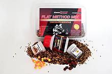 Методный пелети, флет метод мікс Chocolate (Шоколад) Carp Drive 5 в 1