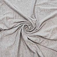 Кулир Серый меланж - 100% хлопок, 200см.