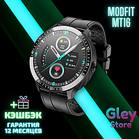 Смарт-часы Smart watch Modfit MT16 All Black + ГАРАНТИЯ 12 месяцев + ПОДАРОК