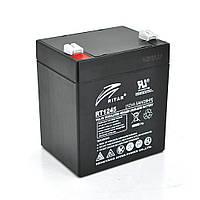 Акумуляторна батарея AGM RITAR RT1245B, Black Case, 12V 4.5Ah ( 90 х 70 х 101 (107) ) Q10