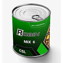"""Зернові Robin """"Mix-6 CSL"""" 900мл ж/б"""