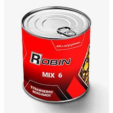 "Зернові Robin ""Mix-6 Полуниця Бергамот"" 900мл ж/б"