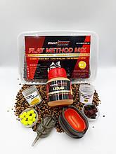 Методный пелети, флет метод мікс Кукурудза-Тигровий горіх (Corn-Tiger Nut) Carp Drive 7 в 1