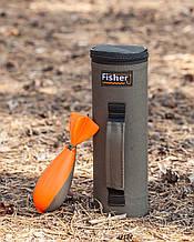 Тубус для маркера і спомба, Тубус жорсткий, Тубус Fisher