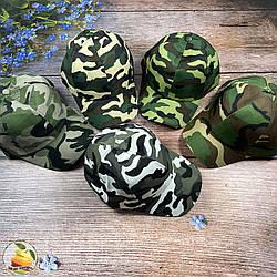 Камуфляжна кепка для хлопчика (обсяг 58 см) (01880)