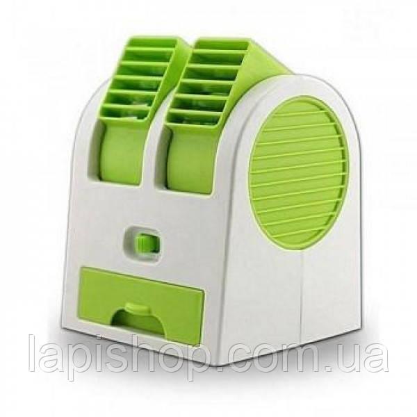 Настольный мини кондиционер Mini Fan от USB Портативный вентилятор