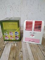 Настольный мини кондиционер Mini Fan от USB Портативный вентилятор, фото 2