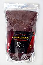 Методный пеллетс, пеллетс флет, пеллетс Carp Drive  Red Premium Halibut (премиум , Криль) 2 мм 900гр