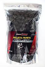 Карповый пеллетс,насадочный пеллетс, пеллетс  Carp Drive Black Premium Halibut с отверстием) 20 мм 900 гр.