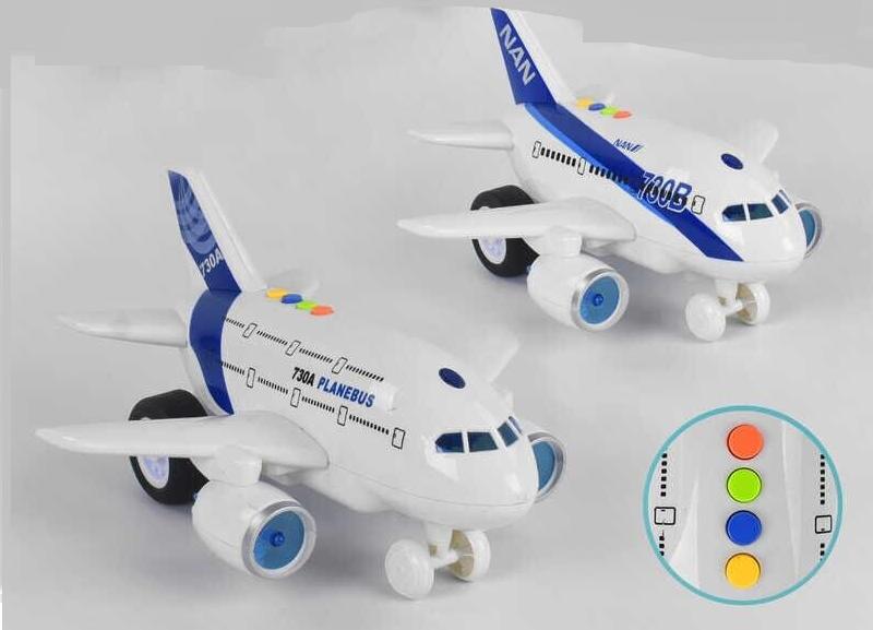 Детский музыкальный самолет WY 730 AB