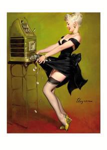 Листівка GIL ELVGREN Jackpot, 1961