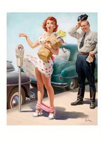 Листівка ART FRAHM No Time To Lose, 1951