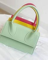 Найяскравіша модна сумка м'ятного кольору