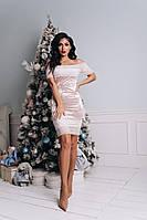 Вечернее бархатное платье, фото 1